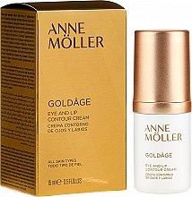 Духи, Парфюмерия, косметика Крем для контура глаз и губ - Anne Moller Goldage Eye and Lip Contour Cream