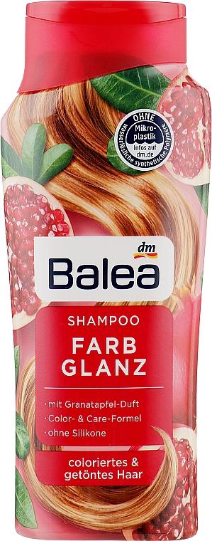 Шампунь для волос с экстрактом граната - Balea Shampoo Farb Glanz