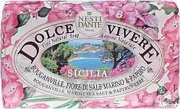 "Духи, Парфюмерия, косметика Мыло ""Сицилия"" - Nesti Dante Dolce Vivere Sicilia"