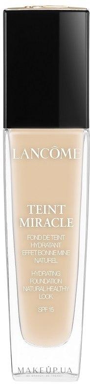 Тональный крем - Lancome Teint Miracle SPF 15 — фото 01 - Beige Albatre