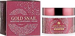 Духи, Парфюмерия, косметика Крем с муцином улитки - Enough Gold Snail Moisture Whitening Cream