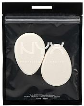 Духи, Парфюмерия, косметика Спонж для макияжа, 2 шт - NYX Professional Makeup Teardrop Foundation Sponge