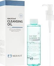Духи, Парфюмерия, косметика Гидрофильное масло - Merikit One Point Cleansing Oil