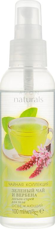 Лосьон-спрей для тела «Зеленый чай и вербена» - Avon Naturals