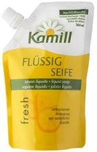 Духи, Парфюмерия, косметика Жидкое мыло для рук и ногтей - Kamill Fresh Liquid Hand Soap (дой-пак)