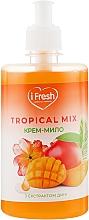 Духи, Парфюмерия, косметика Крем-мыло для рук с экстрактом дыни и ароматом тропических фруктов - iFresh