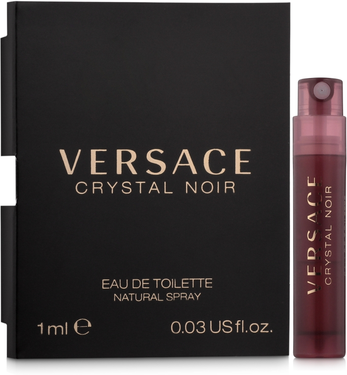 Versace Crystal Noir - Туалетная вода (пробник)