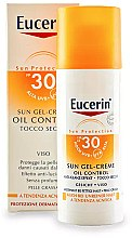 Духи, Парфюмерия, косметика Солнцезащитный крем-гель для жирной и склонной акне кожи - Eucerin Sun Gel-Cream Oil Control SPF30