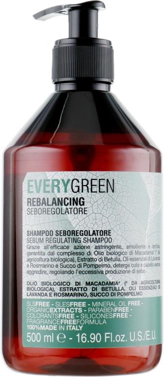 Себорегулятор шампунь с маслом макадамии, экс. березы, маслом лаванды и сок грейпфрута - Dikson EG Seboregulytor
