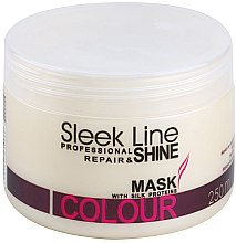 Духи, Парфюмерия, косметика Маска для волос - Stapiz Sleek Line Colour Mask