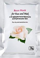 Духи, Парфюмерия, косметика Маска для лица с розой - Indian Henna Rose Mask