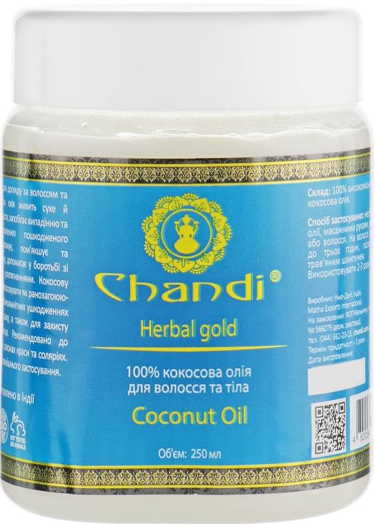 Масло для волосся і тіла - Chandi Coconut Oil — фото N5