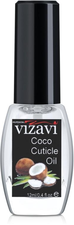 "Масло для кутикулы ""Кокос"" - Vizavi Professional Coconut Cuticle Oil"