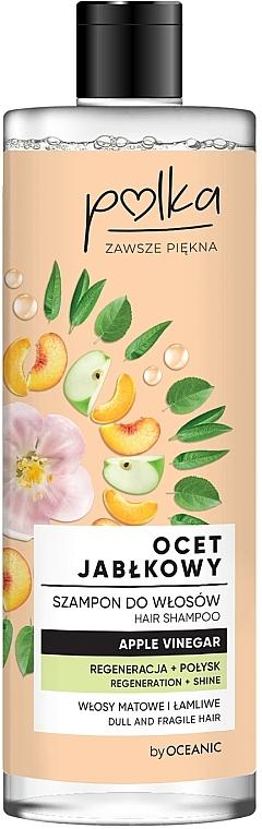 Шампунь для волос «Яблочный уксус» - Polka Apple Vinegar Shampoo