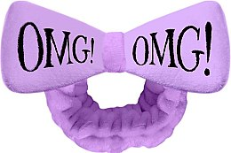 Духи, Парфюмерия, косметика Косметическая повязка для волос, фиолетовая - Double Dare OMG! Purple Hair Band