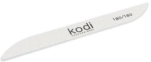 "Пилка для ногтей ""Бумеранг"" - Kodi Professional Gray File 180/180"