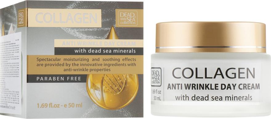 Дневной крем против морщин с коллагеном - Dead Sea Collection Collagen Anti-Wrinkle Day Cream