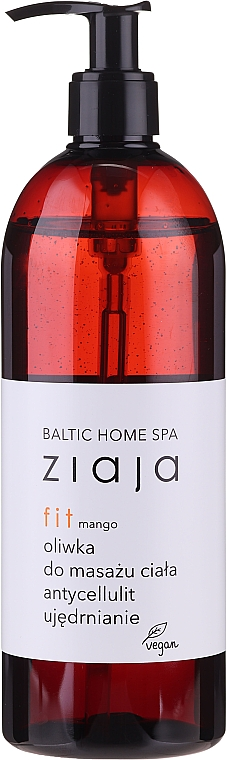 "Масло для массажа тела ""Манго"" - Ziaja Baltic Home Spa FIT Mango Body Massage Oil"