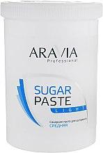 """Духи, Парфюмерия, косметика Сахарная паста для депиляции """"Легкая"""" - Aravia Professional Sugar Paste Light"""