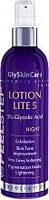 Духи, Парфюмерия, косметика Ночной лосьон-пилинг 5% для нормальной и жирной кожи - GlySkinCare Lotion Lite 5 Glycolic Acid 5%