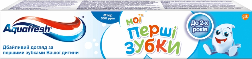 """Зубная паста """"Мои первые зубки"""" - Aquafresh Milk Teeth"""