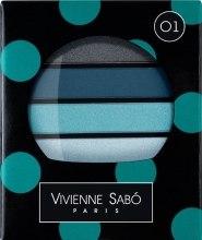 """Духи, Парфюмерия, косметика Тени для век """"4 цвета"""" - Vivienne Sabo Quatre Nuances"""