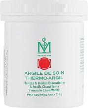 Парфумерія, косметика Термо-Аргіл маска-глина з рослинами, ефірними маслами і прогріванням «Інтенсивний розігрів» для тіла - Medicafarm Argile De Soin Thermo-Argil Plantes, HE & Actifs Chauffants