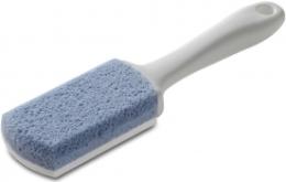 Духи, Парфюмерия, косметика Пемза с ручкой, 160х40х20мм - Siliglass Double Action Blue