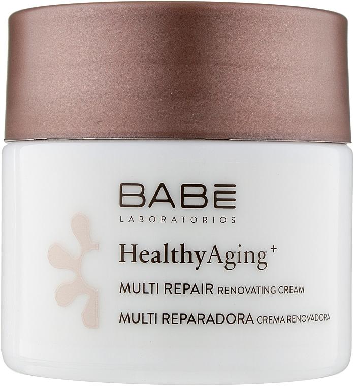 Ночной мультивосстанавливающий крем с антивозрастным комплексом - Babe Laboratorios Healthy Aging Multi Repair Renovating Cream