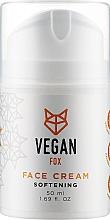 Духи, Парфюмерия, косметика Крем для лица смягчающий - Vegan Fox Softening Facial Cream