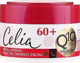 Духи, Парфюмерия, косметика Полужирный крем для лица, антивозрастной - Celia Q10 Face Cream 60+