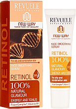 Духи, Парфюмерия, косметика Сыворотка с ретинолом для лица - Revuele Retinol Face Smoothing Serum Moisturise Tone Hydrate Lift Firm Skin