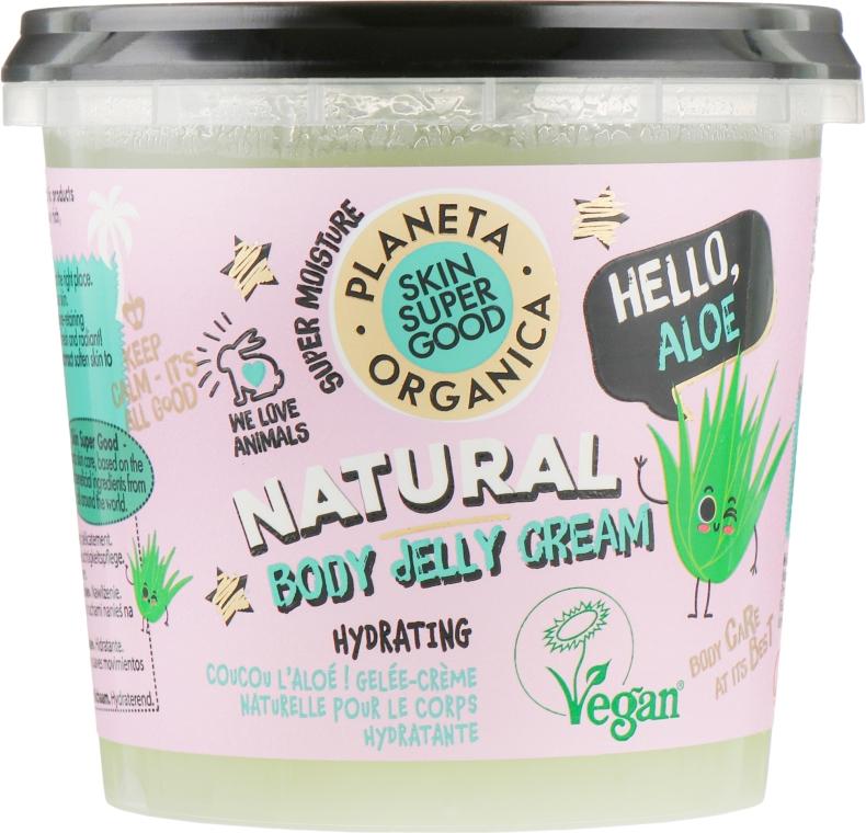 "Крем-желе для тела ""Привет, Алоэ"" - Planeta Organica Body Jelly Cream"