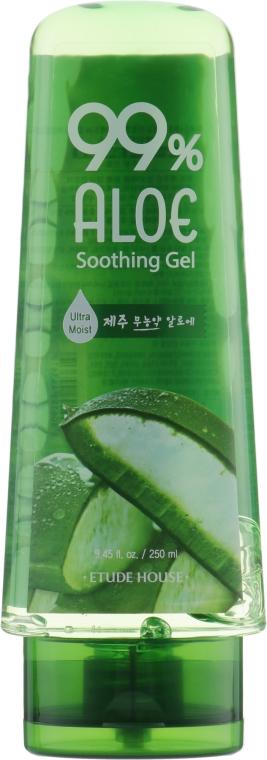 Увлажняющий гель для лица и тела с 99% экстрактом алоэ - Etude House 99% Aloe Soothing Gel