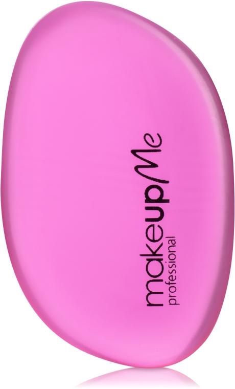 Силиконовый спонж для макияжа овальной формы, розовый - Make Up Me Siliconepro
