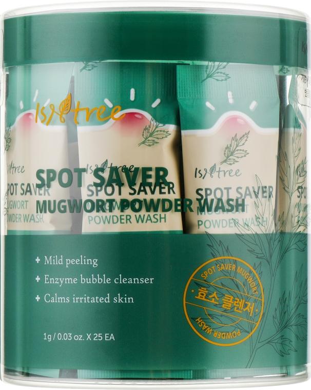 Энзимная пудра для умывания c полынью - IsNtree Spot Saver Mugwort Powder Wash