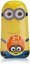 Духи, Парфюмерия, косметика Air-Val International Minions Shower Gel And Shampoo - Гель-шампунь для душа