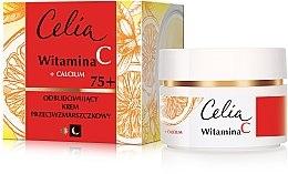 Духи, Парфюмерия, косметика Крем для лица против морщин на день и ночь 75+ - Celia Witamina C