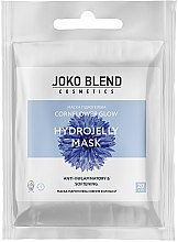Духи, Парфюмерия, косметика Маска гидрогелевая для лица - Joko Blend Cornflower Glow Hydrojelly Mask