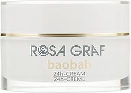 Духи, Парфюмерия, косметика Омолаживающий крем с экстрактом баобаба и Q10 - Rosa Graf Baobab 24h Cream