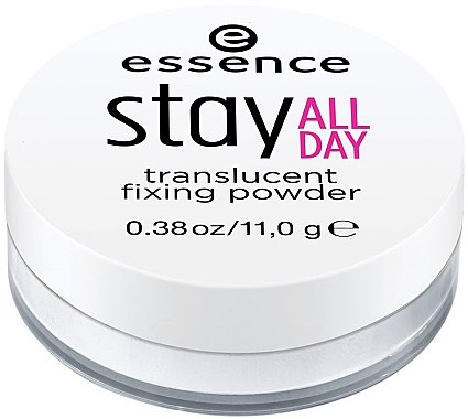 Фиксирующая пудра для лица - Essence Stay All Day Translucent Fixing Powder