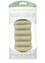 Духи, Парфюмерия, косметика Спонж 6 для ванны с зеленой глиной - The Konjac Sponge Co Wave Body Green Clay