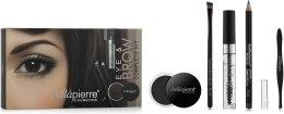 Духи, Парфюмерия, косметика Набор для макияжа глаз и бровей - Bellapierre Eye & Brow Complete Kit Noir