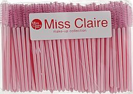 Духи, Парфюмерия, косметика Набор одноразовых щеточек для ресниц и бровей, 100 шт - Miss Claire