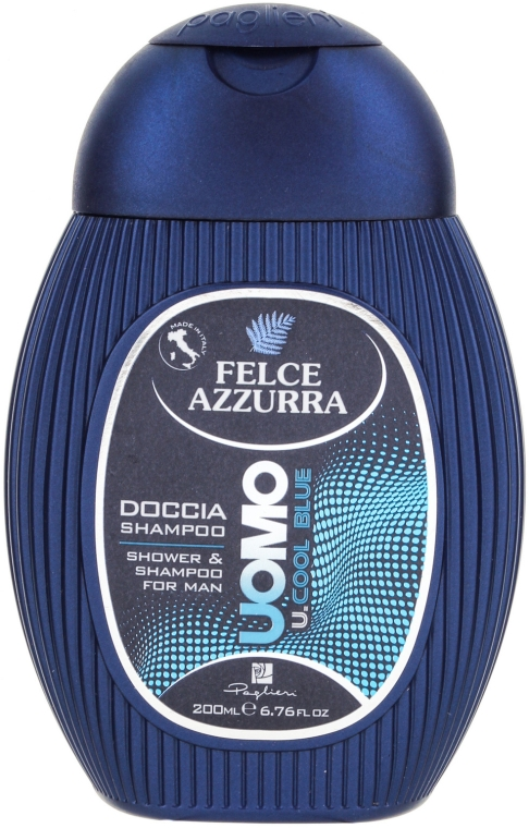 """Шампунь и гель для душа """"Cool Blue"""" - Felce Azzurra Shampoo And Shower Gel For Man — фото N1"""