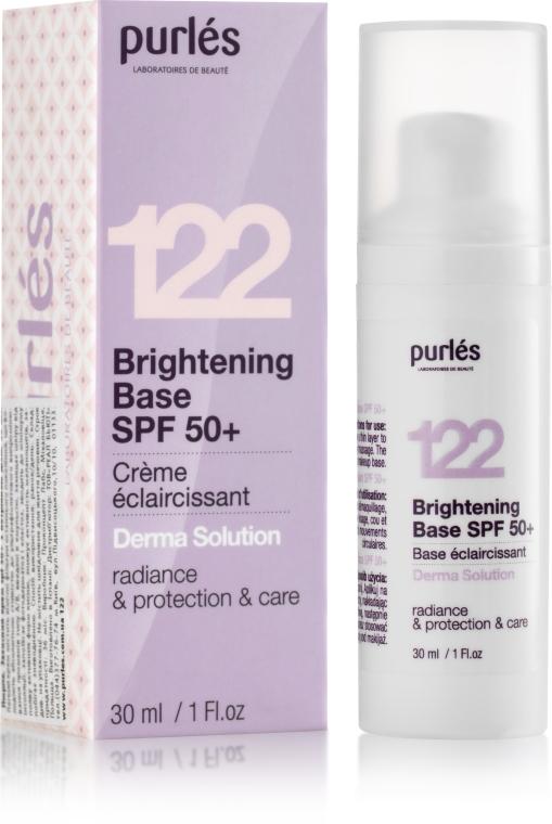 Сияющая основа SPF 50+ с тонирующим эффектом - Purles Brightening Base SPF 50+
