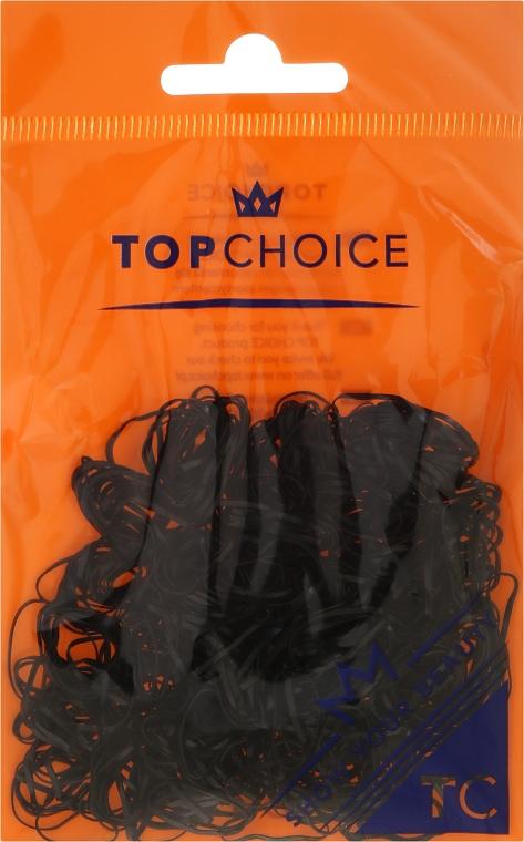 Резинки для волос 22722, черные - Top Choice