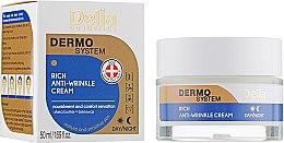 Духи, Парфюмерия, косметика Крем для лица, антивозрастной, питательный - Delia Dermo System Rich Anti-Wrinkle Cream