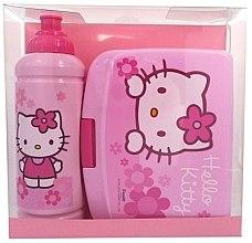 Духи, Парфюмерия, косметика Дорожный набор аксессуаров для детей - Disney Hello Kitty (Bidon/425 ml + lunch box)