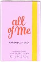 Духи, Парфюмерия, косметика Mandarina Duck All of Me for Her - Туалетная вода